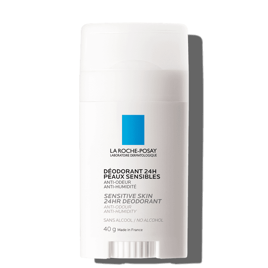 La Roche Posay ProductPage Physiological Deodorant Stick 24hr 40g 3337872412134 Front